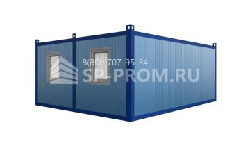 Двойной блок контейнер фото